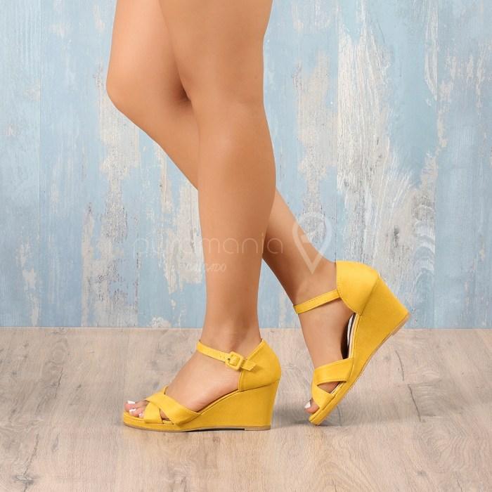 Sandália FONTANA Amarelo