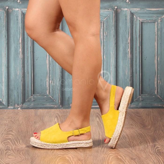 Sandália ISLANTILLA Amarelo