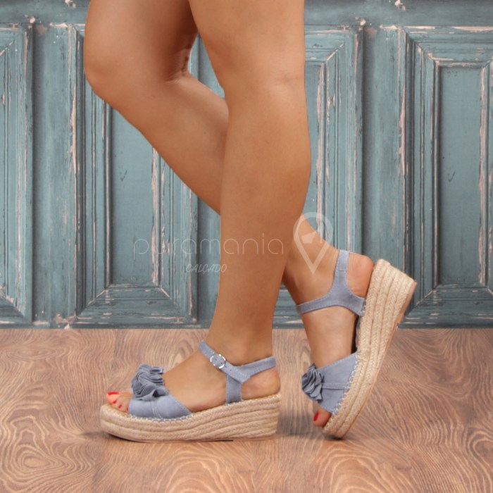 Sandália PENINA Azul