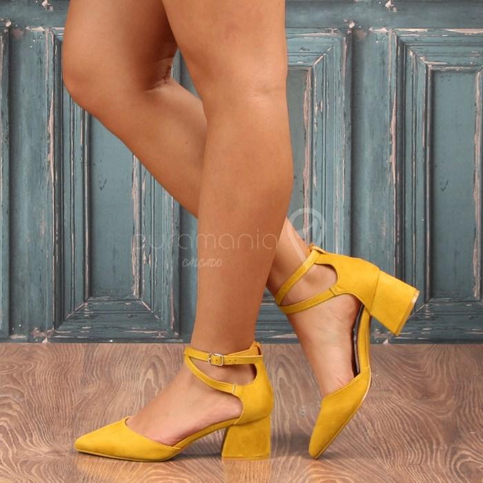 Sapato MAYSA Amarelo