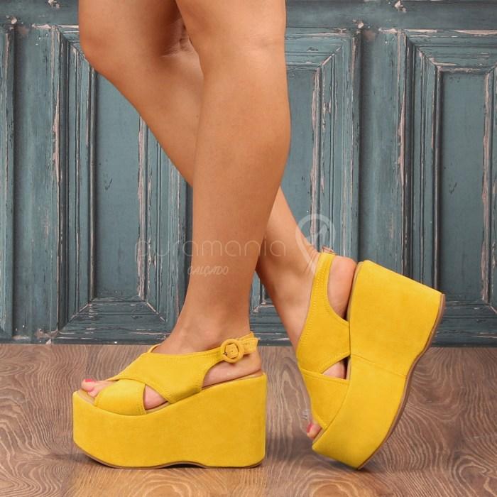 Sandália DERBY Amarelo