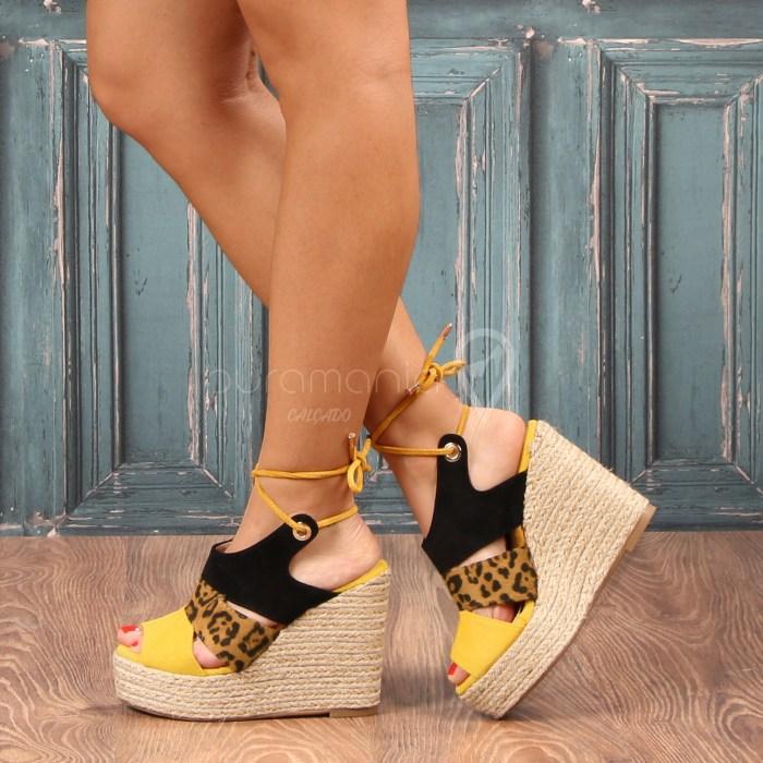 Sandália SUNRISE Amarelo