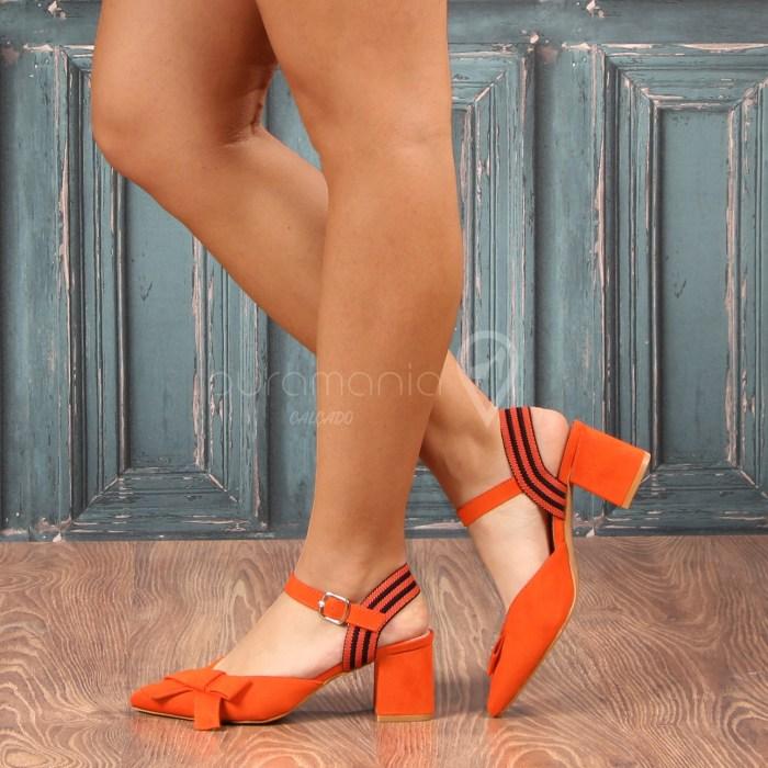 Sapato BIARRITZ Laranja