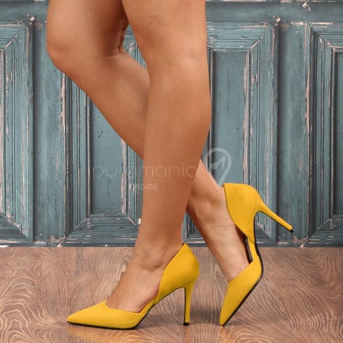 Sapato GODIVA Amarelo