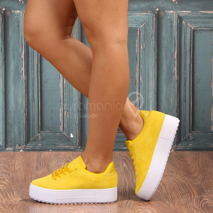 Sapatilha MIAGY Amarelo