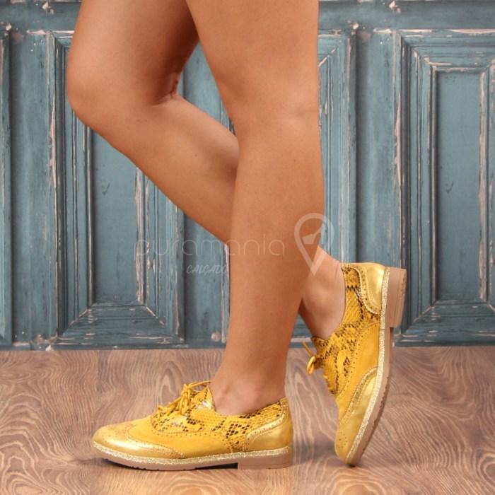 Sapato TOMBOY Amarelo