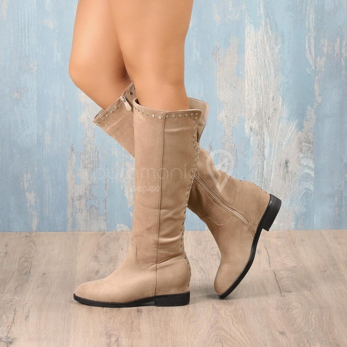 Bota POP STAR Beige