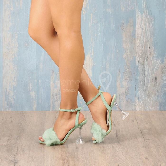 Sandália PUFFY Verde