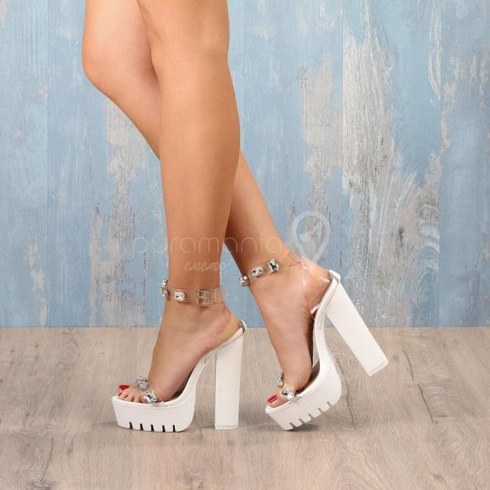 Sandália DOREA Branco