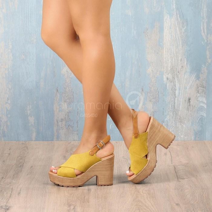 Sandália ITALIANA Amarelo