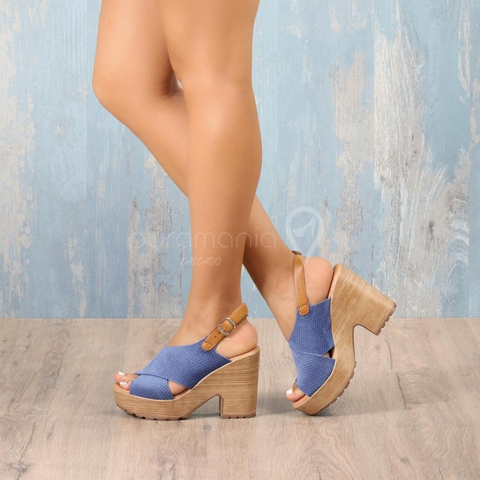 Sandália ITALIANA Azul