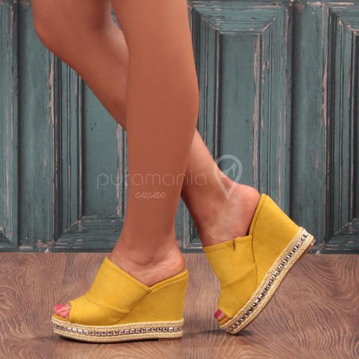 Sandália EXCLUSIVE Amarelo