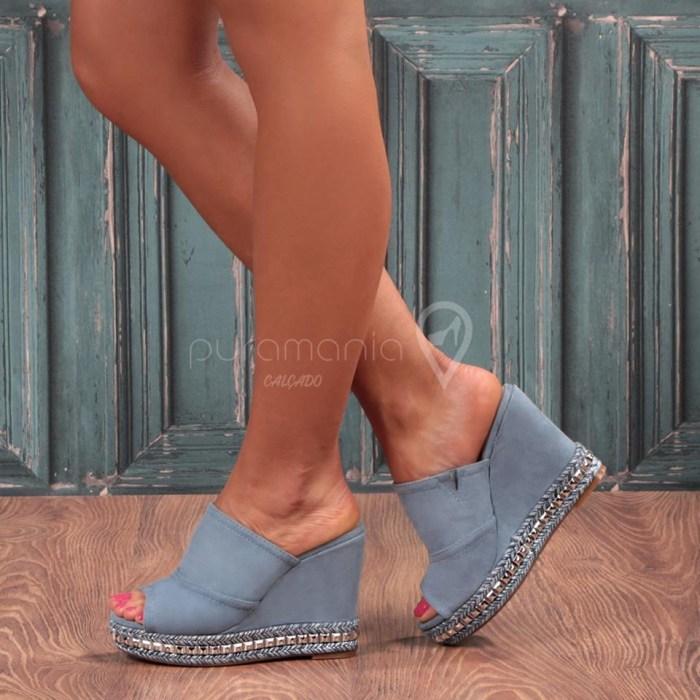 Sandália EXCLUSIVE Azul
