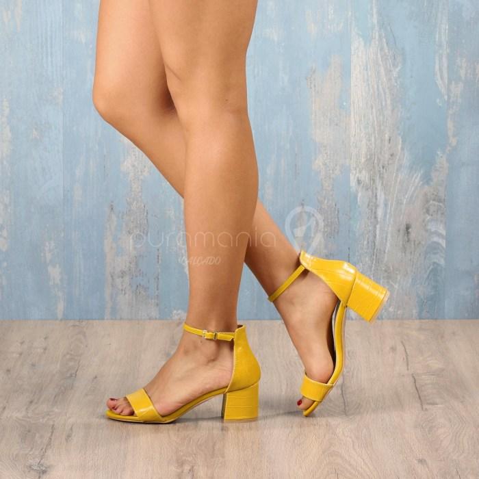 Sandália UZZI Amarelo