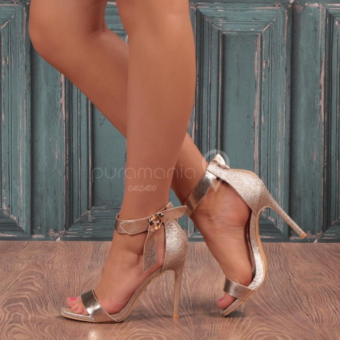Sandália AUSTRALIAN Dourado