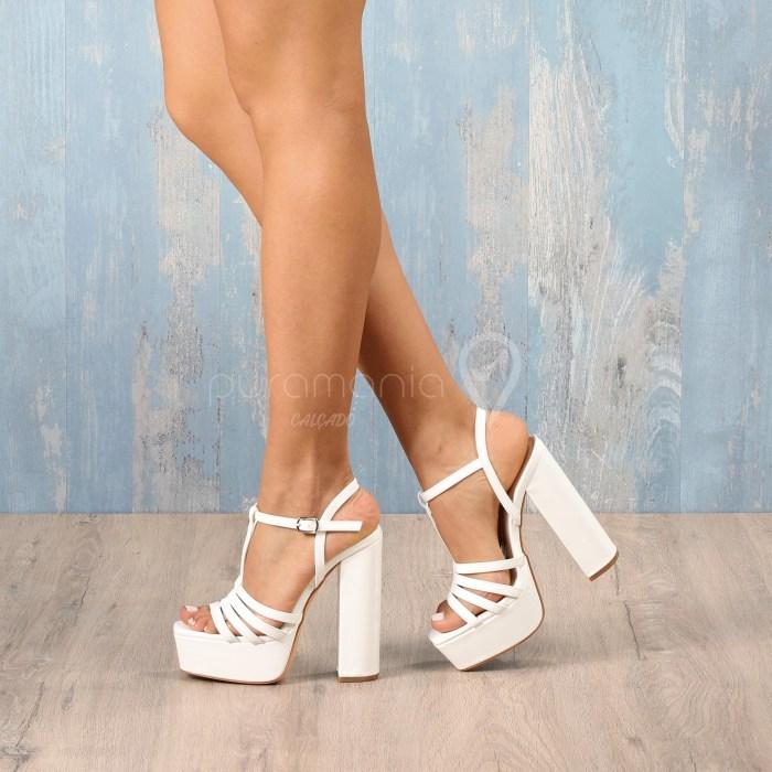 Sandália BABE Branco
