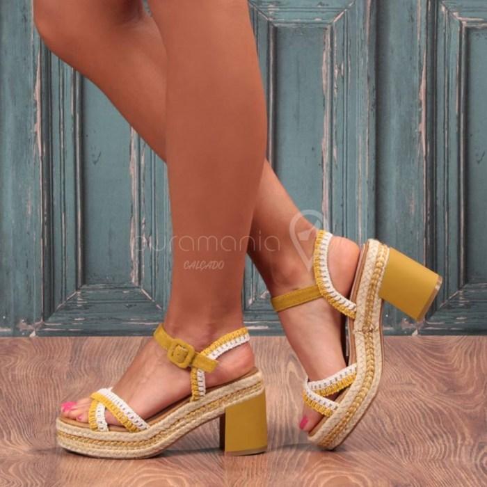 Sandália GUERLIN Amarelo