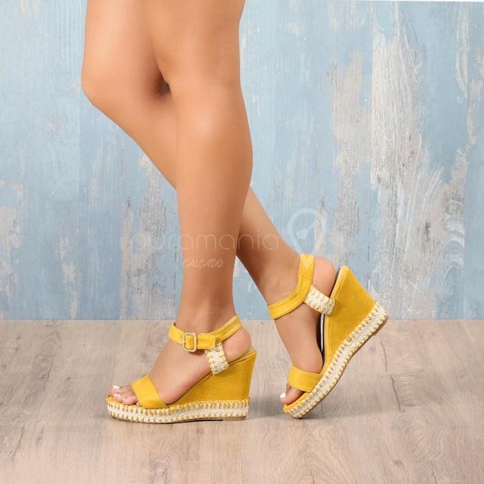 Sandália BENNE Amarelo