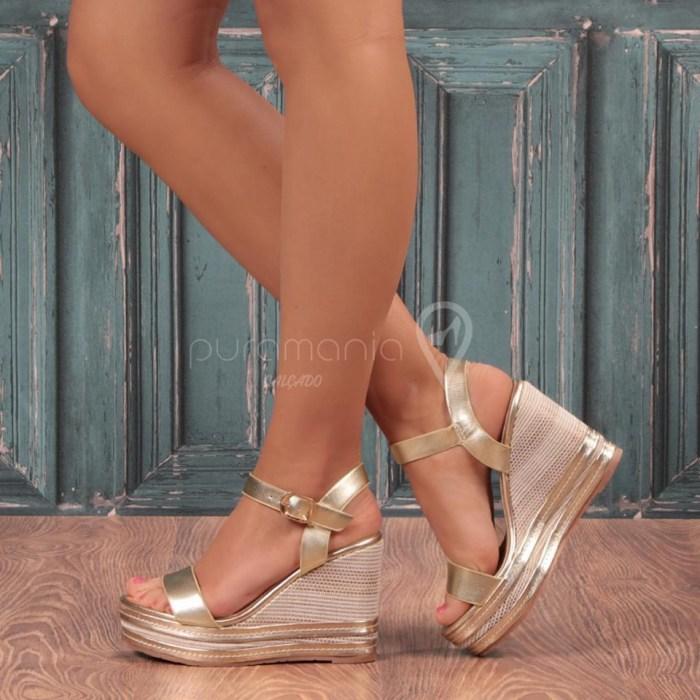Sandália SENSO Dourado