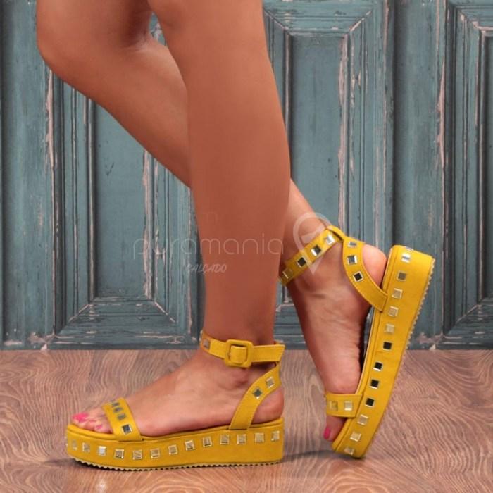 Sandália AMBER Amarelo