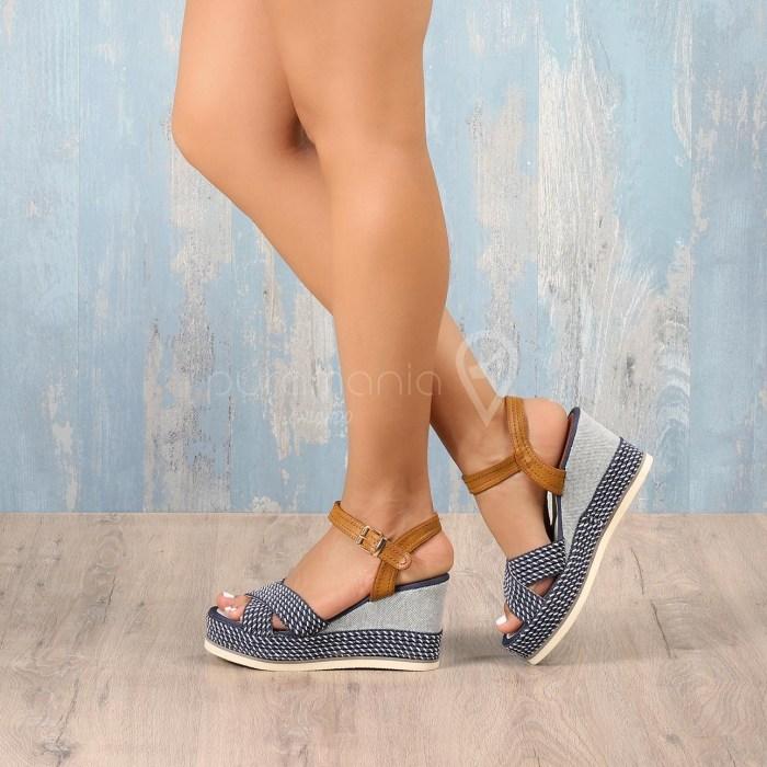 Sandália YOUNG Azul