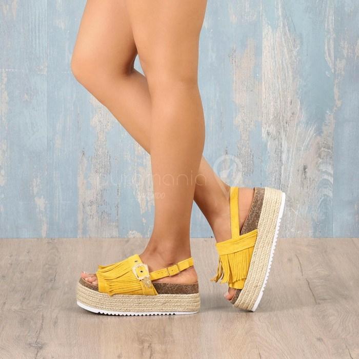 Sandália LIRICS Amarelo