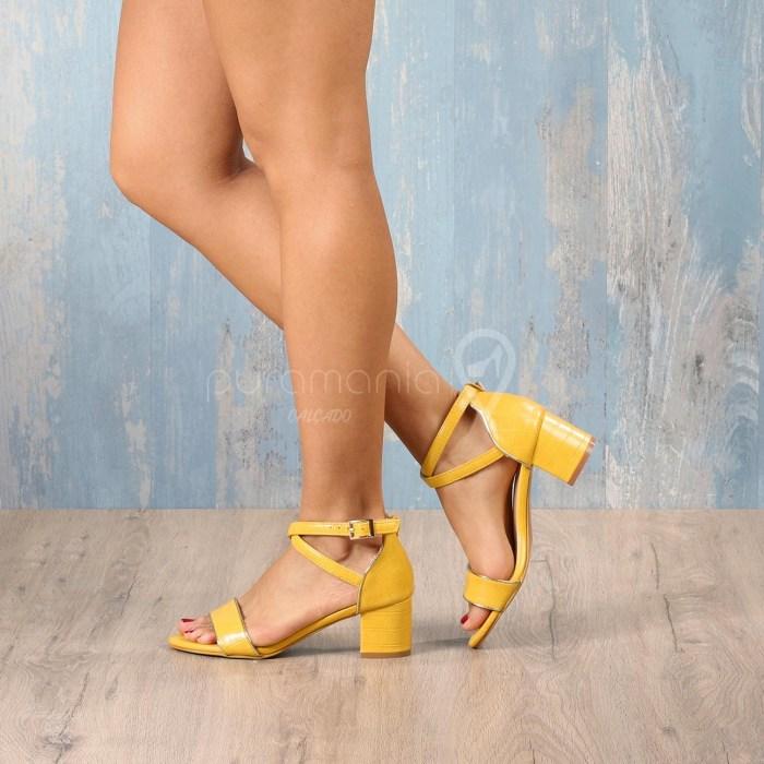 Sandália HAGGIS Amarelo