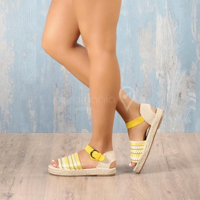 Sandália MENORQUINA Amarelo