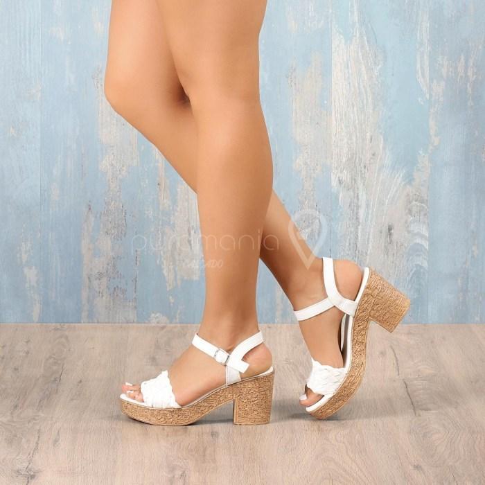 Sandália TRIXIE Branco