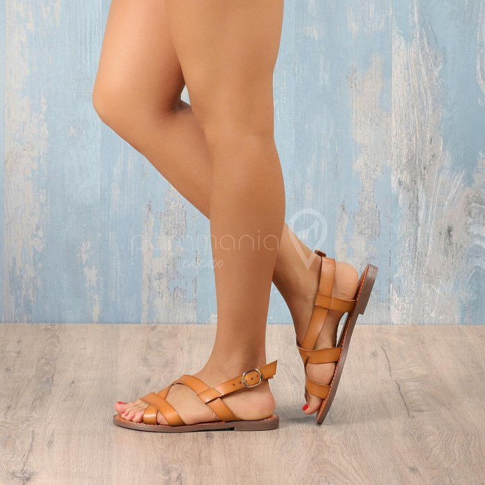 Sandália ALWAYS Camel