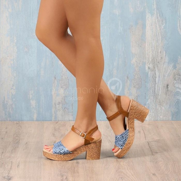 Sandália NAPOLI Azul