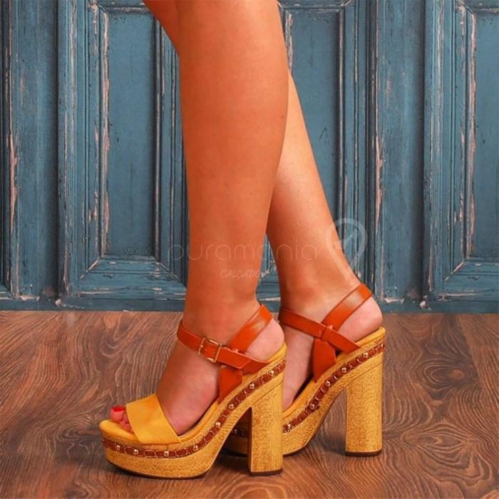 Sandália EVEREST Amarelo