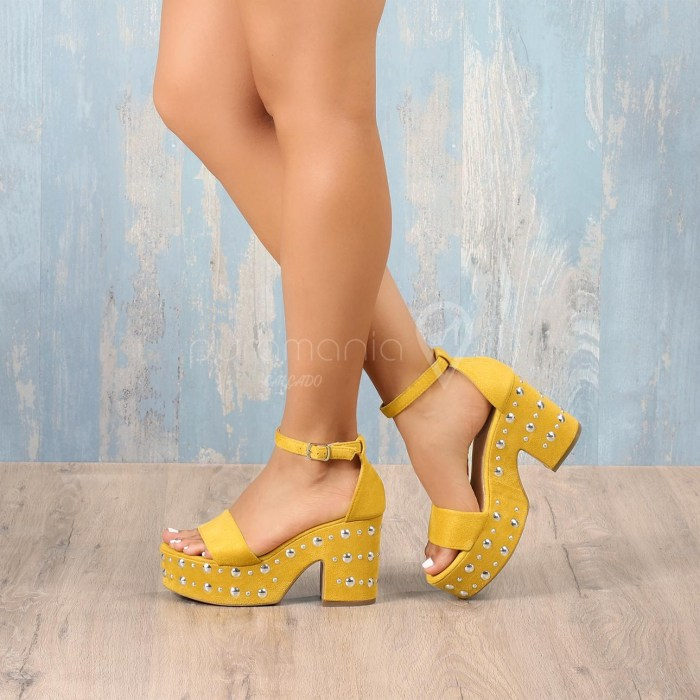 Sandália MAGALI Amarelo