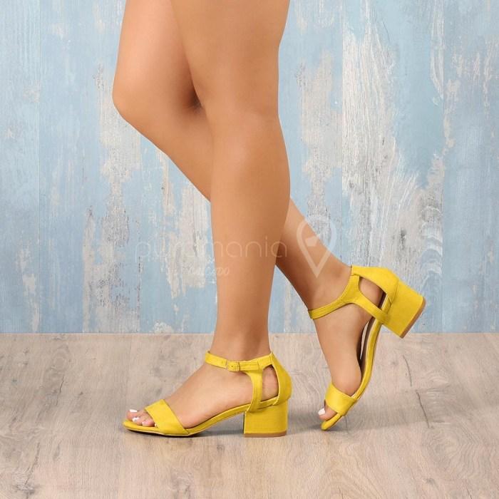 Sandália CREAMY Amarelo