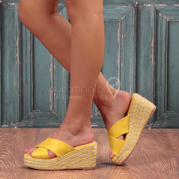 Sandália JELLY Amarelo