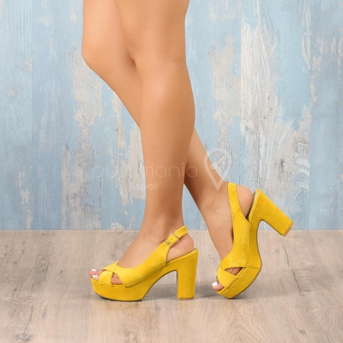 Sandália MURPHY Amarelo