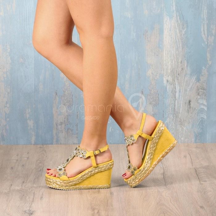 Sandália VITA Amarelo