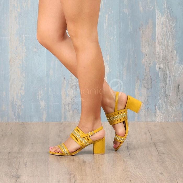 Sandália PRACTICAL Amarelo