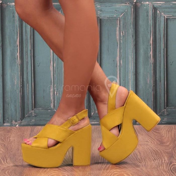 Sandália GABRIELLA Amarelo