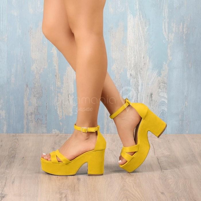 Sandália AYMARA Amarelo
