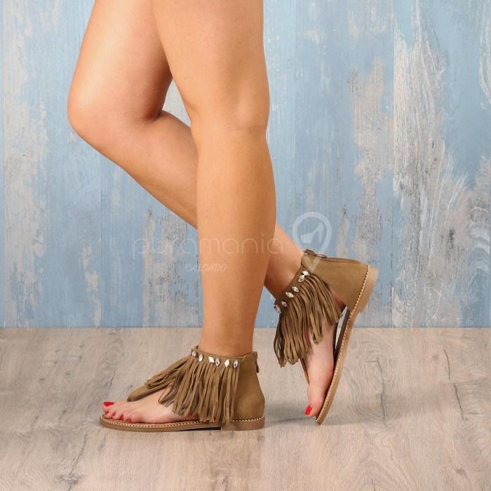 Sandália SISLEY Camel