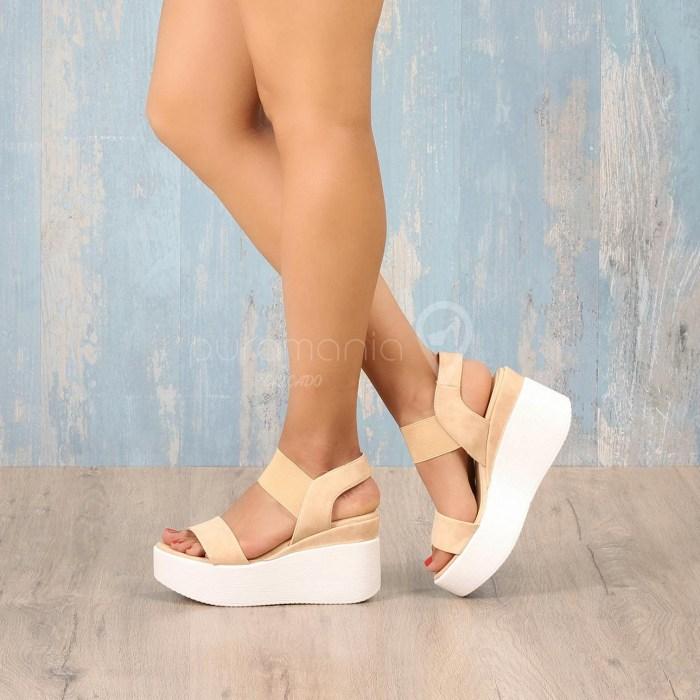 Sandália COMFORT Nude