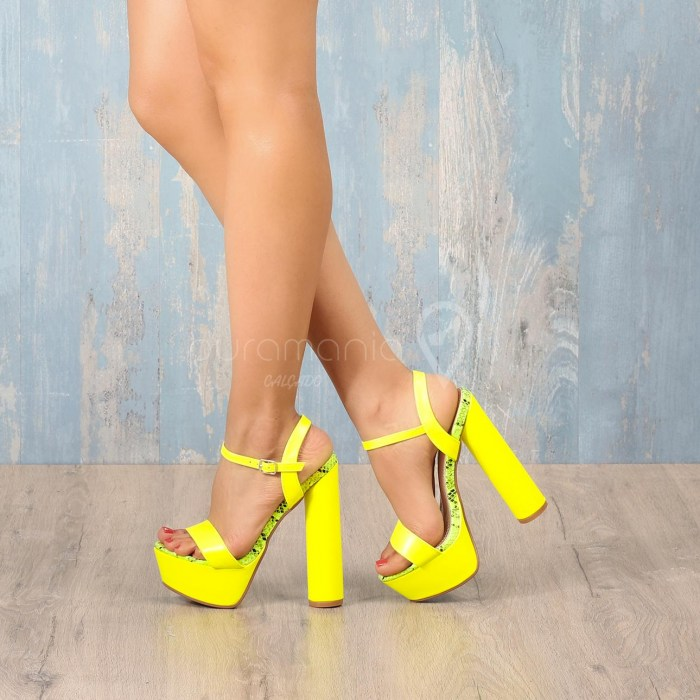 Sandália MIRAMAR Amarelo