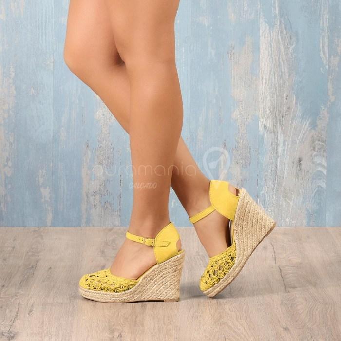 Sandália KAMARI Amarelo