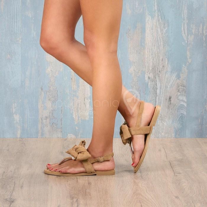 Sandália LACIE Camel