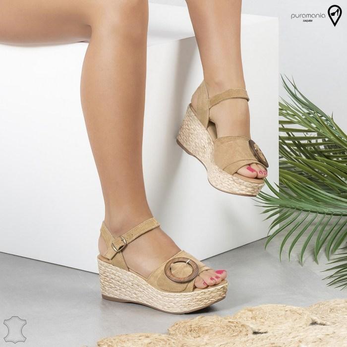Sandália NATHALIE Camel