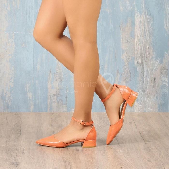 Sapato DELANA Laranja