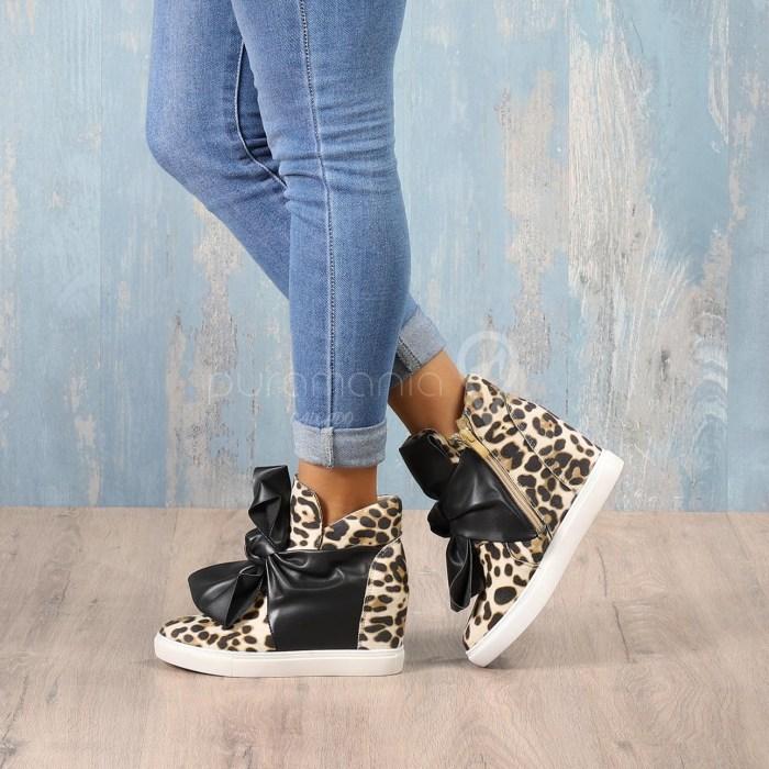 Sapatilha KNOT Leopard