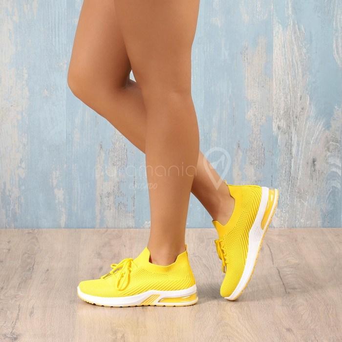 Sapatilha CALVIN Amarelo