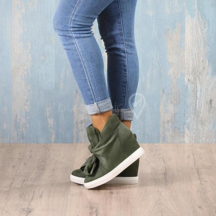 Sapatilha KNOT Verde